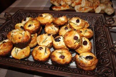 Feta Olive Tarts