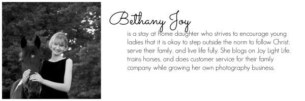 Bethany Joy bio