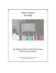 Film Critique Cover